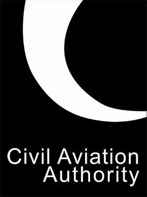 Aerial Cornwall - CAA, Night. Civil Aviation Authority