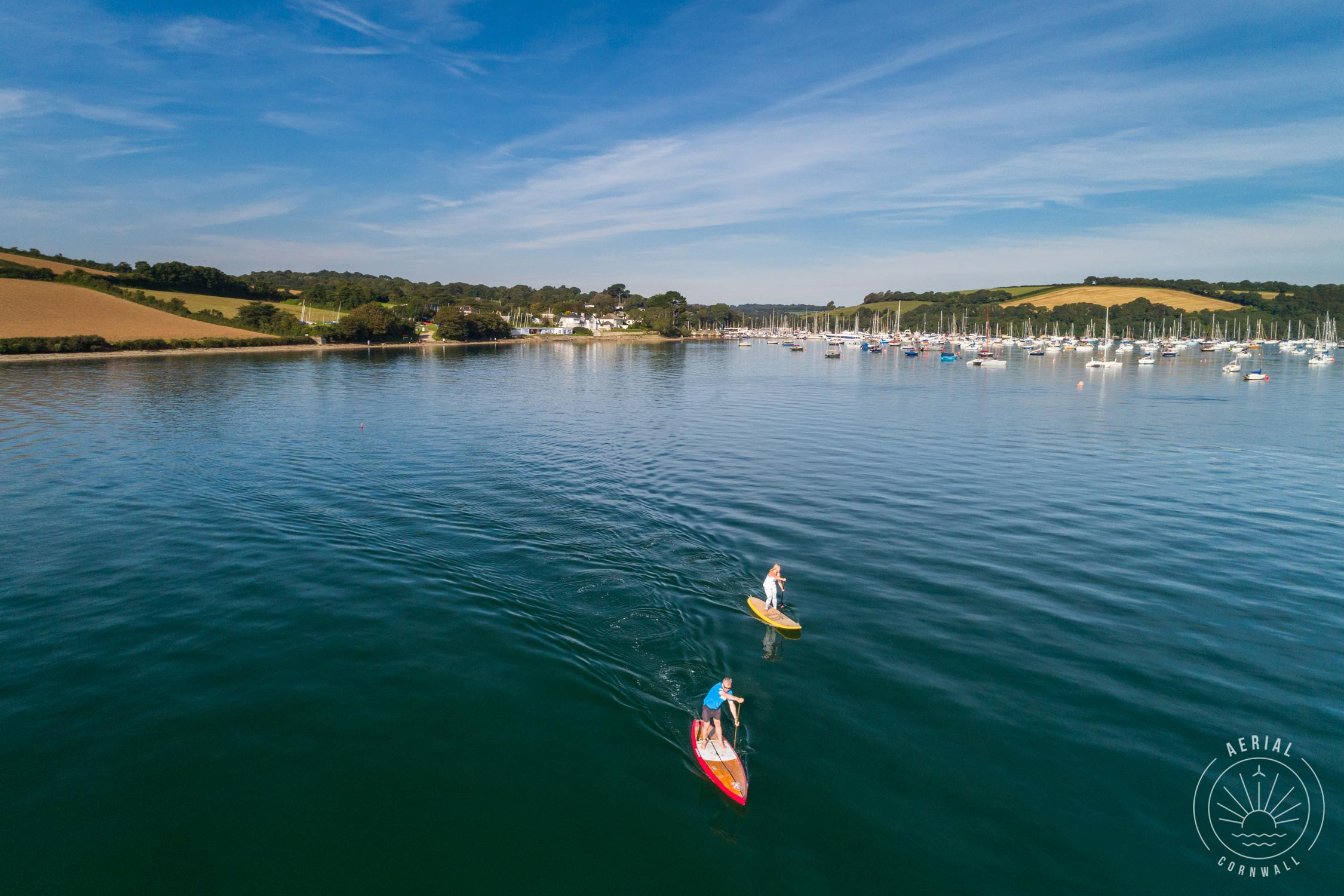 Mylor Harbour SUP
